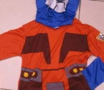 transformers blue costume Romper